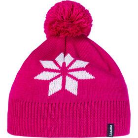 Schöffel Nantes3 Bonnet en maille tricotée, pink yarrow